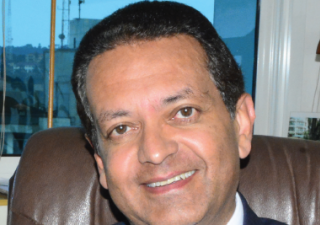His Excellency Amin Mawji, the Ambassador of the Aga Khan Development Network during the interview
