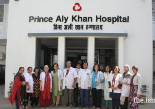 he staff and volunteers of the Cancer Rehab Centre at Prince Aly Khan Hospital. The volunteer team includes several women from the Jamat as well