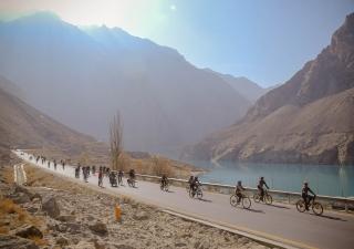 Cycling Rally in Hunza,Pakistan