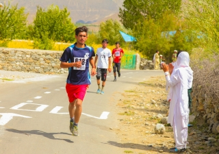 Diamond Jubilee Marathon in Ishkomal Puniyal