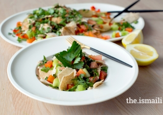 Syrian Fattoush Salad