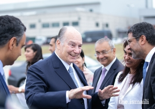 Leaders of the Jamat and AKDN bid farewell to Mawlana Hazar Imam upon his departure from Lisbon.