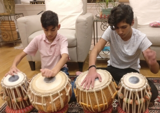 Music has always been present in brothers Zaiim and Rahy Premji's home.