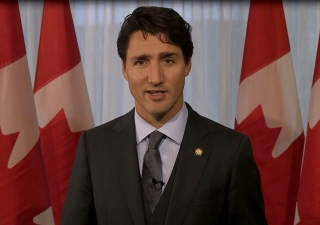 Prime Minister Justin Trudeau's video message at the Adrienne Clarkson Prize for Global Citizenship awarded to Mawlana Hazar Imam on 21 September 2016. ICC