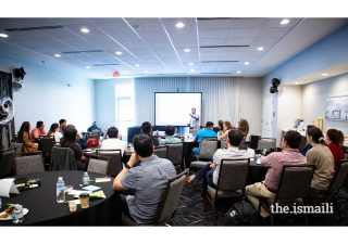 Attendees during an LTP workshop.