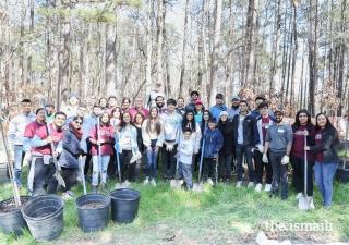 I-CERV and IVC-100 volunteers take over Brook Run Park in Dunwoody, Georgia.