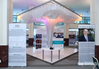 The Ethics in Action Exhibit at the City Hall in Houston, Texas.