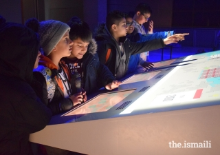 At the Science Museum in London, attendees participate in challenges and games that explore the role of technology in the future.