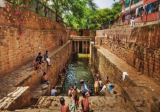 Gandhak Ki Baoli is believed to be the very first step-well in Delhi