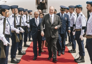 Mawlana Hazar Imam arrives in Lisbon