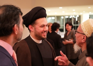 Syed Ali Abbas Razawi at the Ismaili Centre, Toronto, where he gave a keynote lecture at the occasion of Yawm-e Ali 2017. Salim Nensi