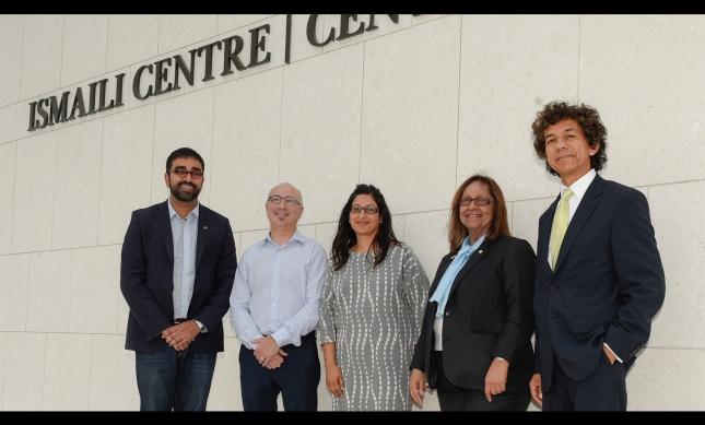 Canadian Ambassador to Portugal Jeffrey Marder at the Ismaili Centre, Toronto. Ghulam Ali