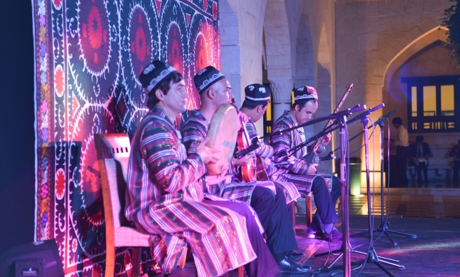 Tajik musicians perform traditional music from their country. Ismaili Council for UAE
